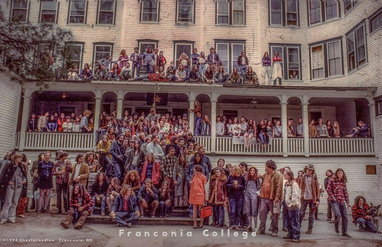 Franconnia College Group Foto 1972